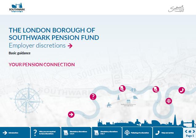 Icon for Employer discretions factsheet