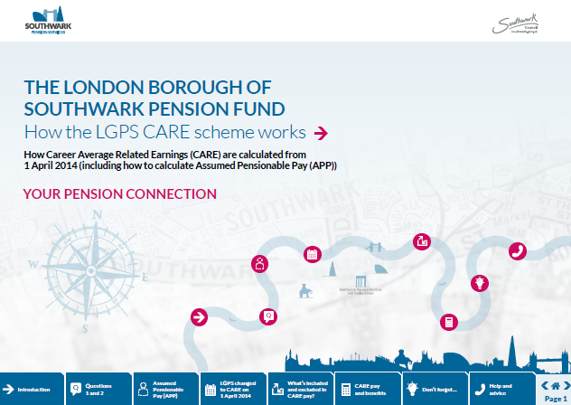 Icon for How the LGPS CARE scheme works factsheet