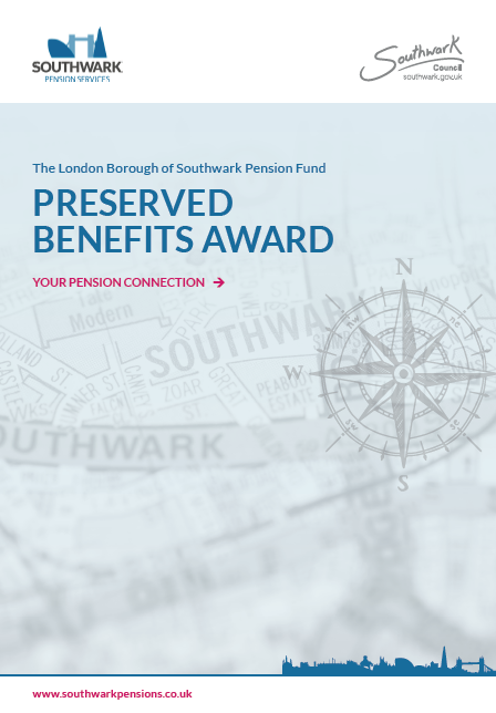 Icon for Preserved benefits award factsheet