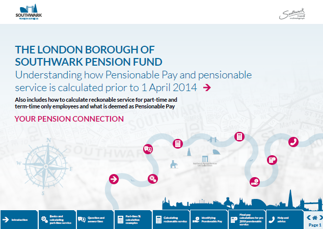Icon for Understanding how Pensionable Pay and pensionable service is calculated prior to 1 April 2014 factsheet