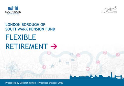 Icon for Flexible retirement presentation