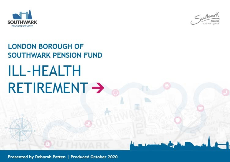 Icon for Ill-health retirement presentation